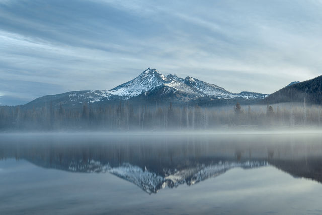 sparks lake, broken top, fine art photography, limited edition, kevin d shearer photography