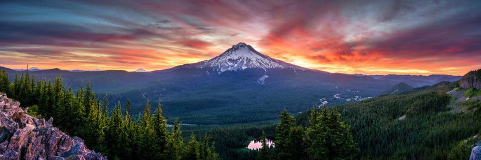 Mt Hood, Sunrise