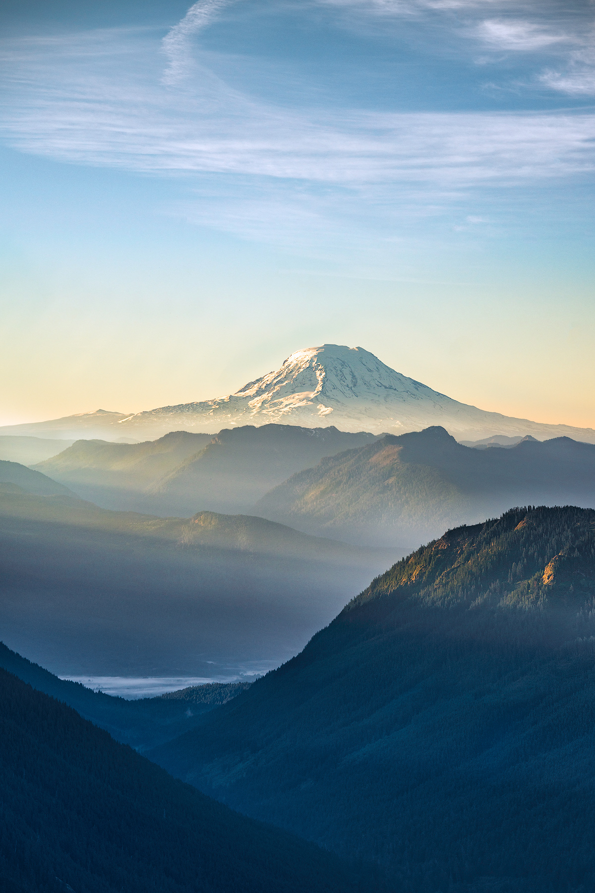 NATURE FINE ART LIMITED EDITION OF 100 Mount Adams, known by some Native American tribes asPahtoorKlickitat...