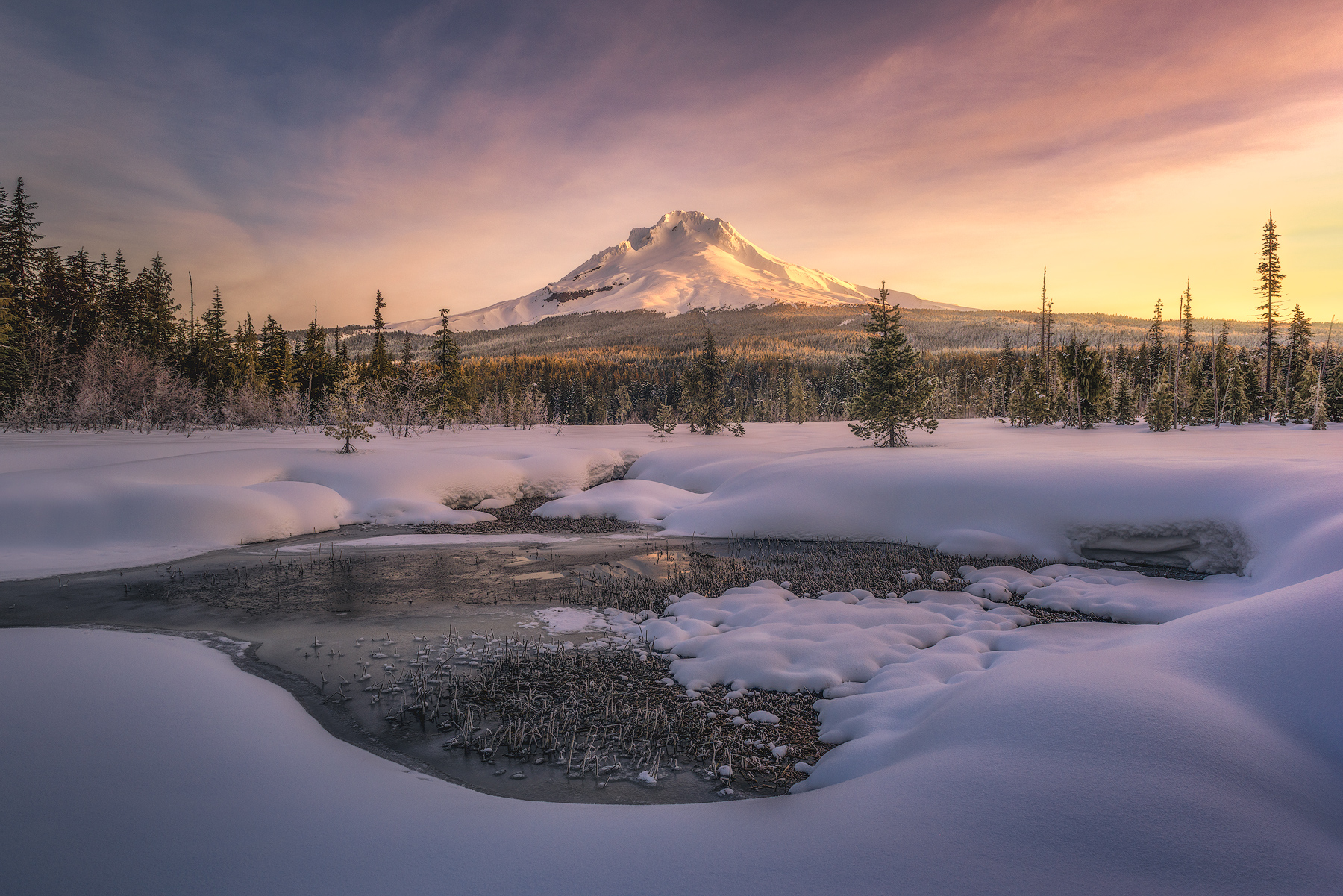 mount hood, oregon, photo